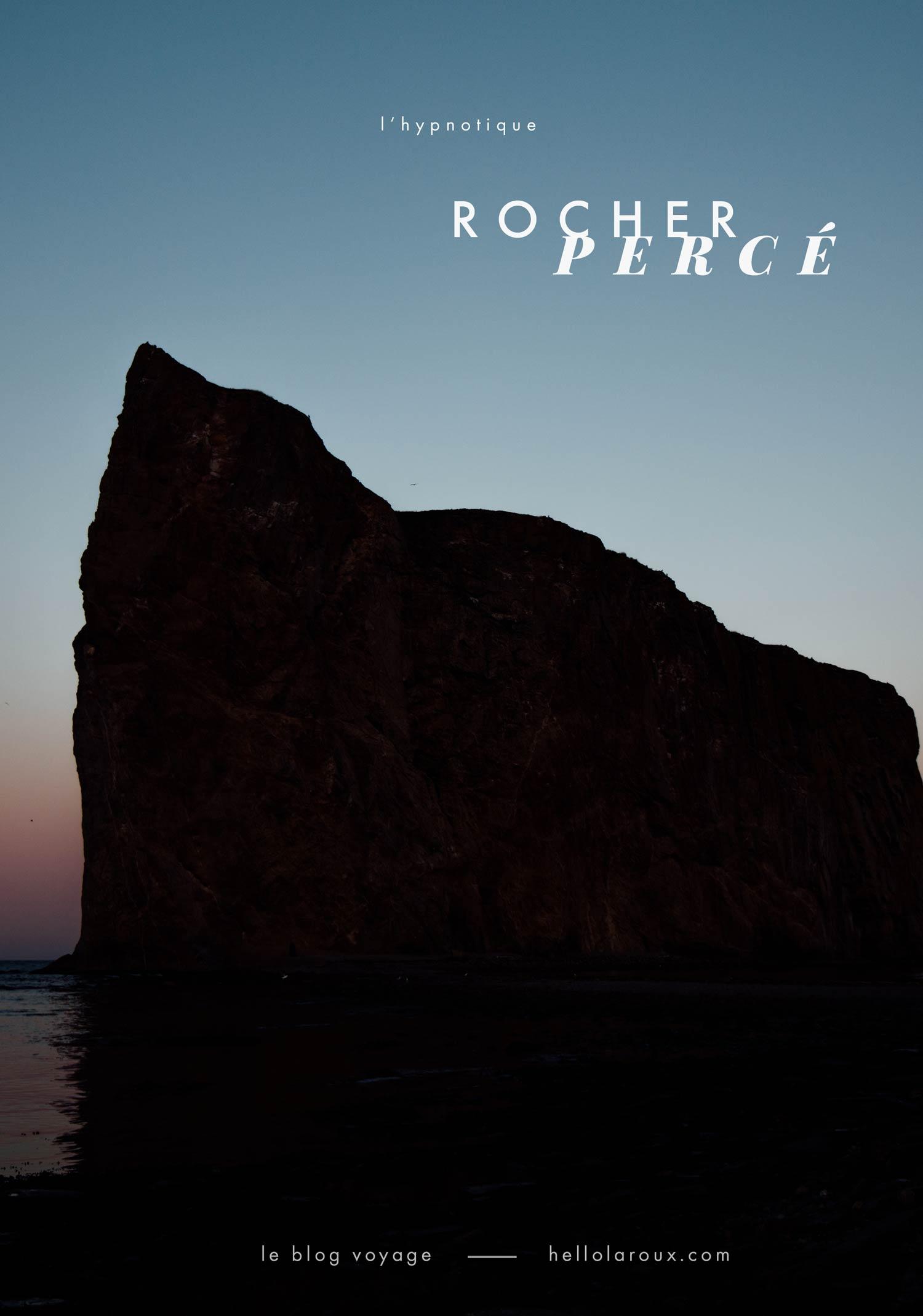 conseils pour voir le rocher percé en Gaspésie