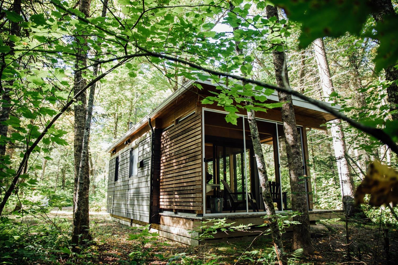 dormir dans un chalet en bois parc national