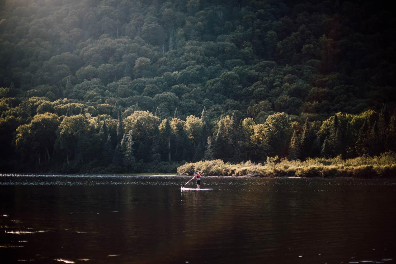faire du paddle dans un parc national québec