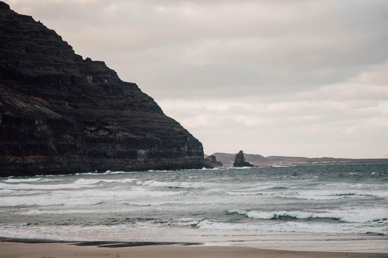 nord de l'ile de Lanzarote
