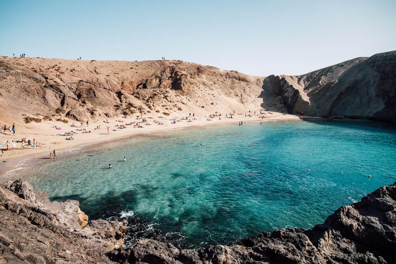 papagayo beach blog voyage Lanzarote