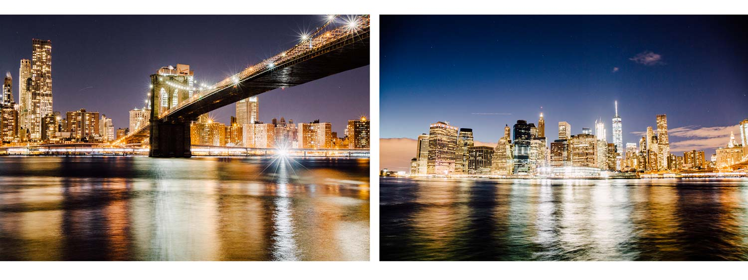 photo brooklyn bridge de nuit