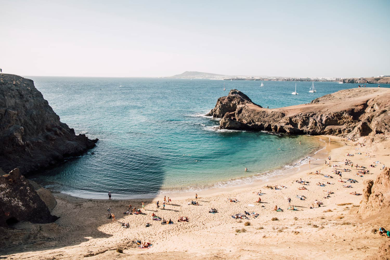 plage papagayo Lanzarote