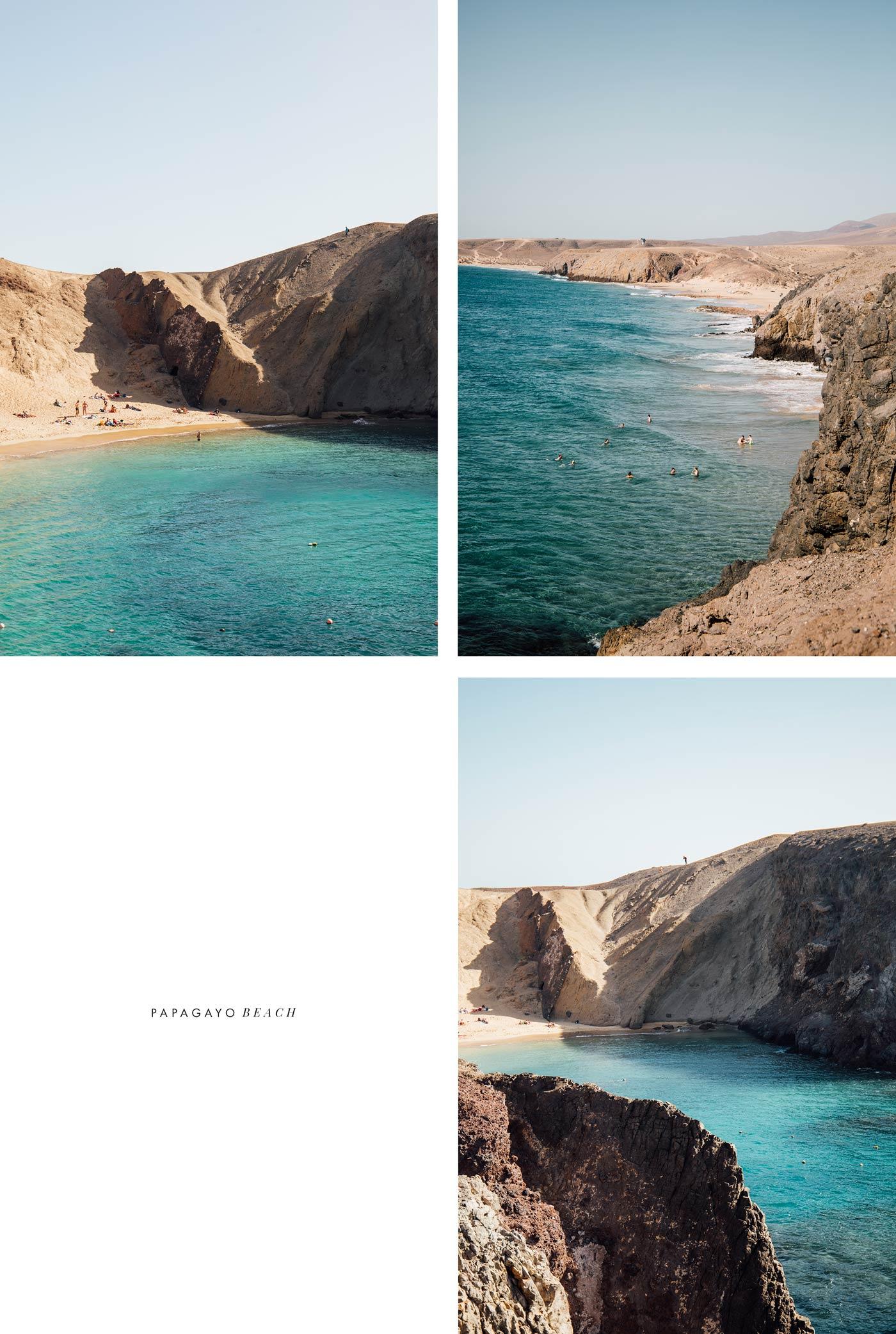 Papagayo : la plus belle plage de Lanzarote