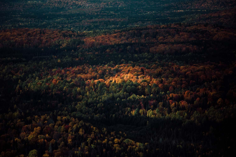 randonner au Québec à l'automne