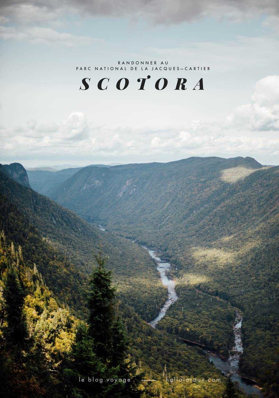 randonner au Québec blog voyage
