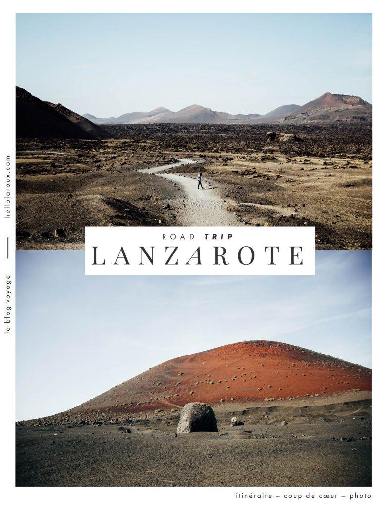 road trip à Lanzarote : itinéraire 7 jours blog