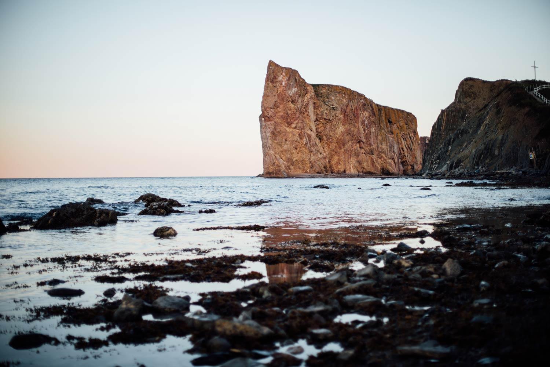 se rapprocher du rocher percé