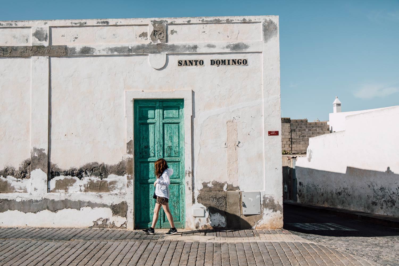 ville de Teguise à Lanzarote