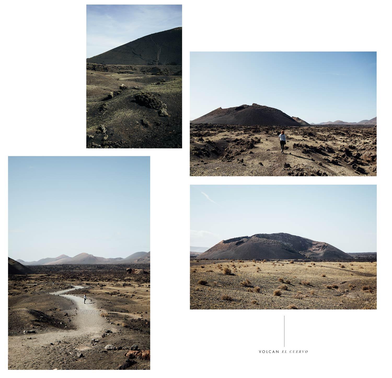 les volcans de Lanzarote : archipel des Canaries