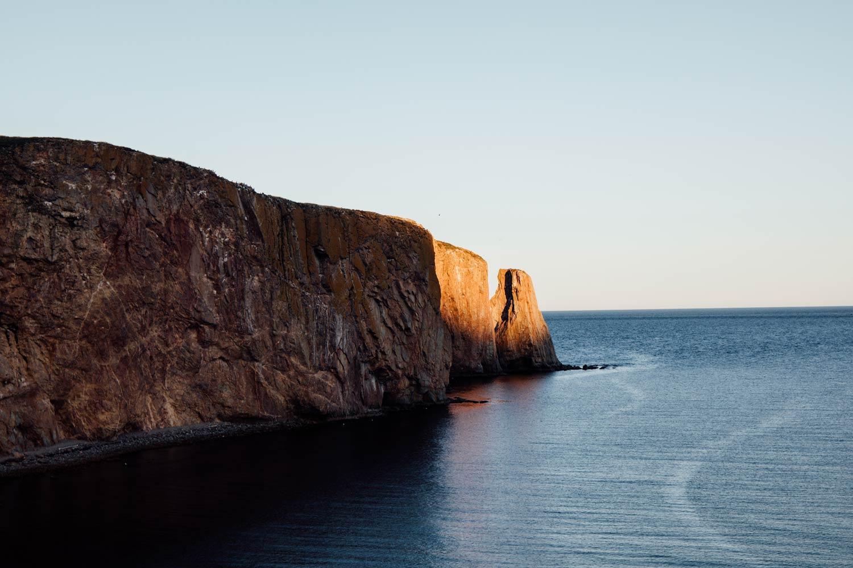 quand voyager en Gaspésie