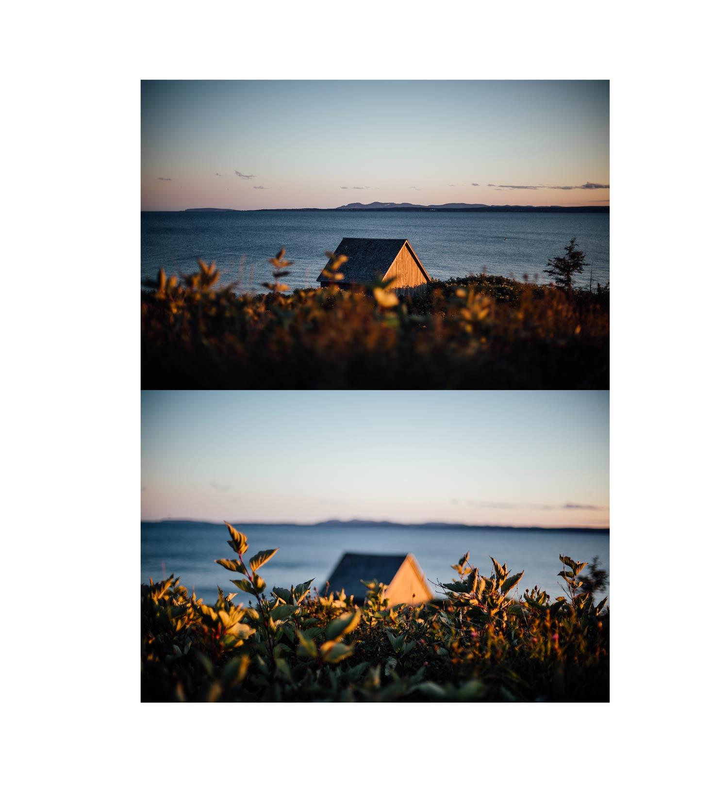 coucher de soleil Gaspésie
