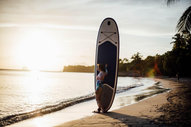faire du paddle en Martinique