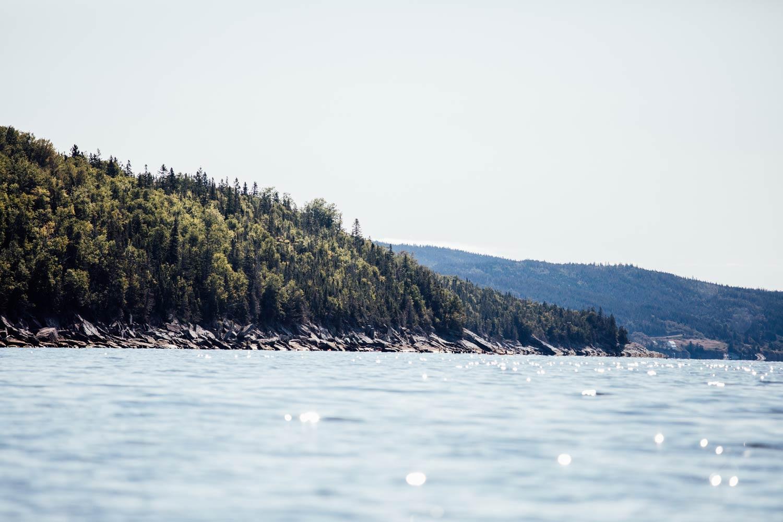 kayak de mer en Gaspésie