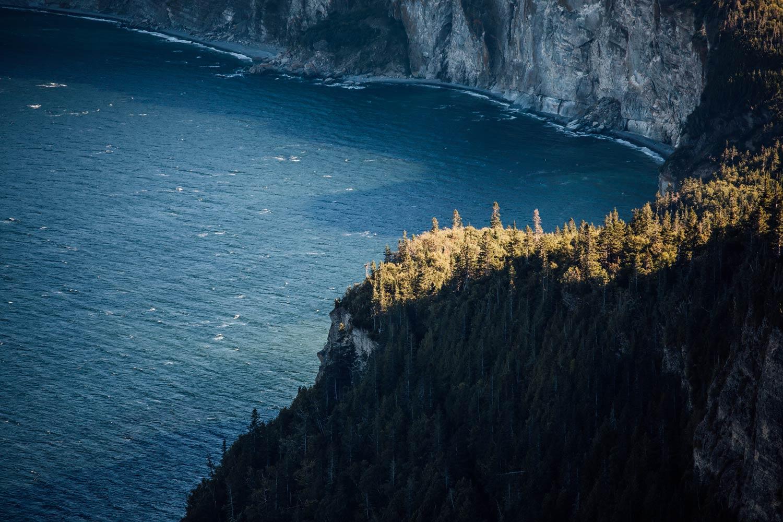 voyage au Canada : paysages de Gaspésie