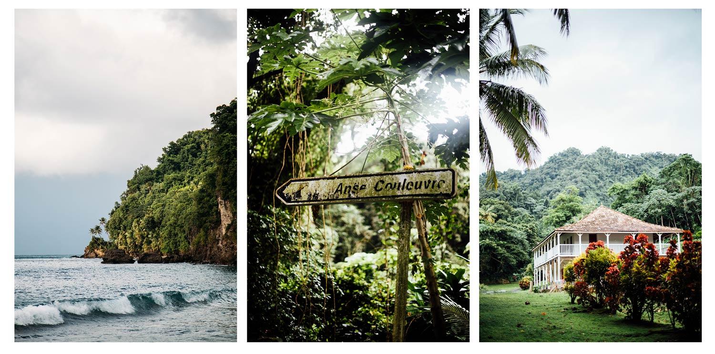 anse céron et couleuvre, le nord de la Martinique