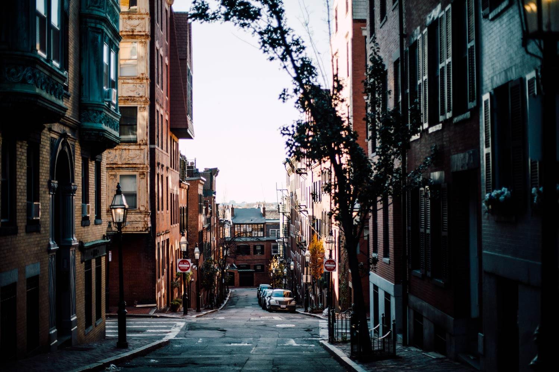 beacon hill streets Boston