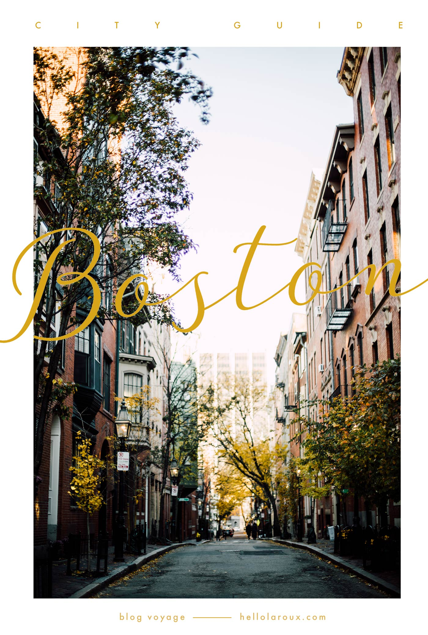 city guide of Boston blog