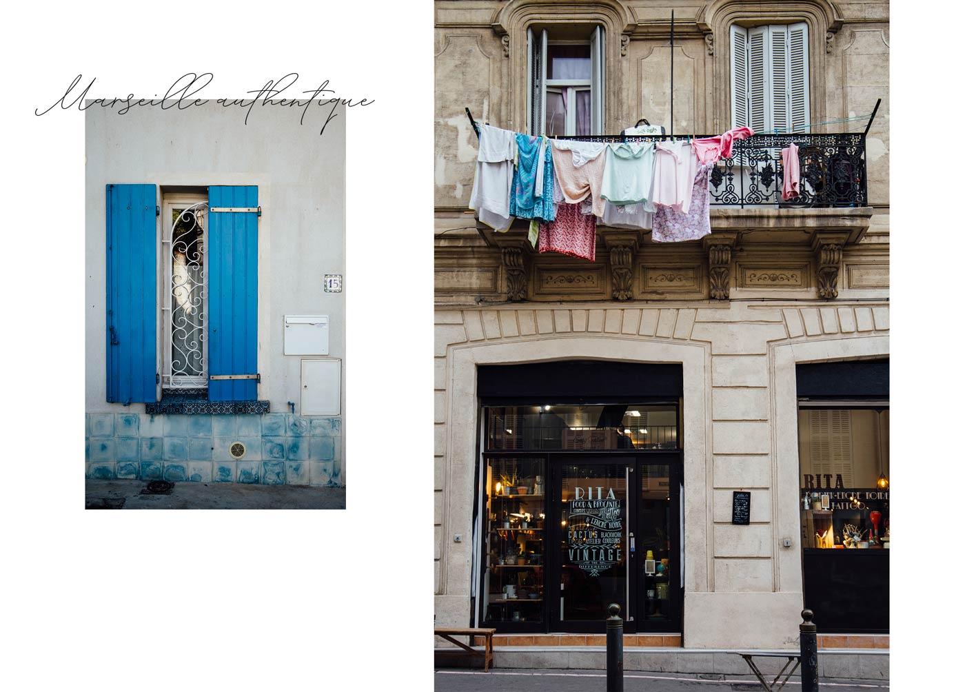le Panier quartier typique de Marseille