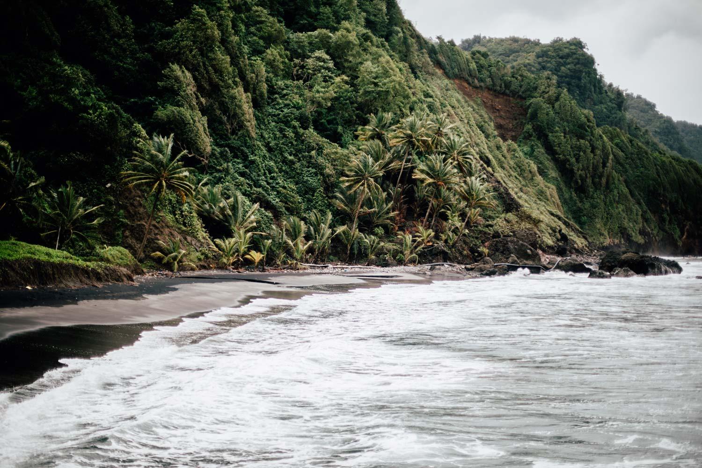 plage du nord de la Martinique