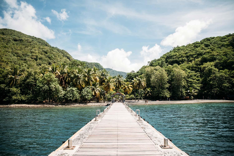 ponton Anse noire Martinique