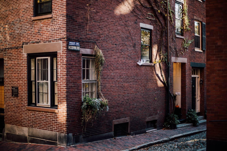 quartier de Beacon hill Boston