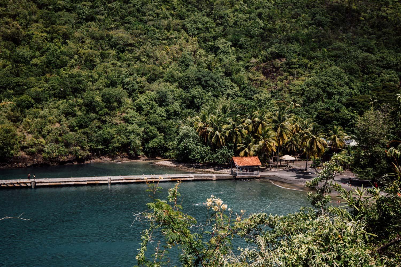 que voir en Martinique : anse noire