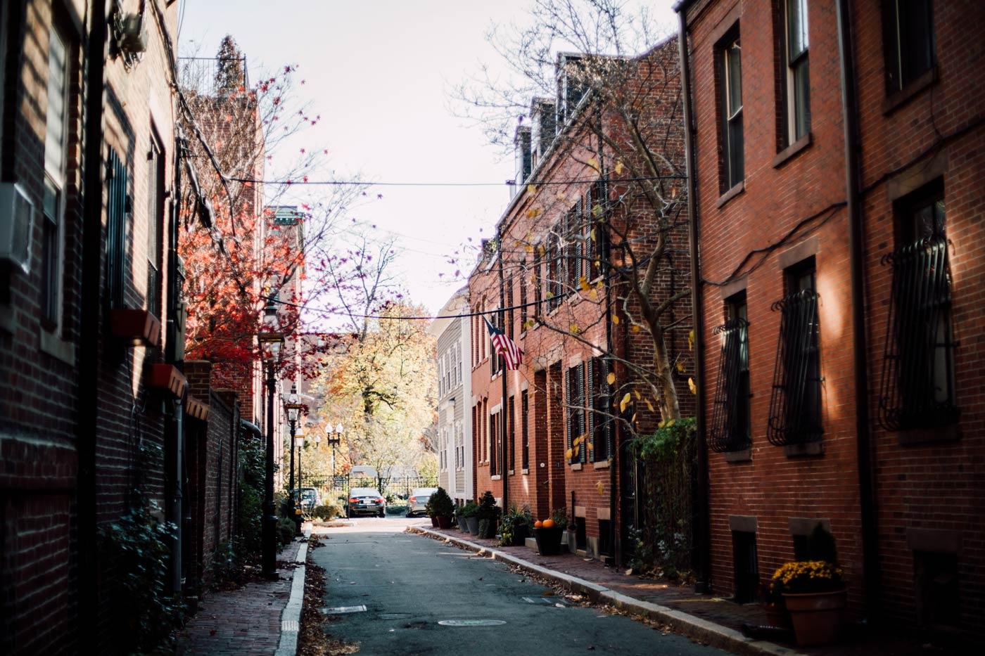 petite ruelle de Boston