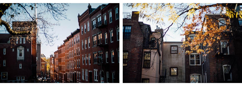 rues dowtown Boston