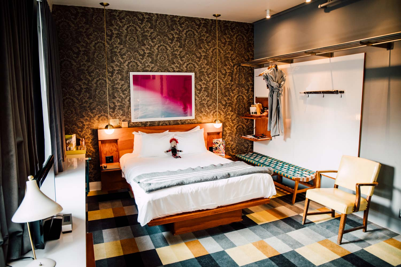 the Drake hotel room
