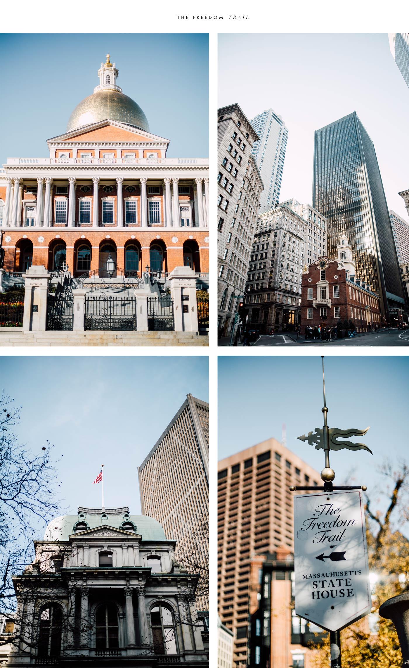 the freedom trail : les visites incontournables de Boston