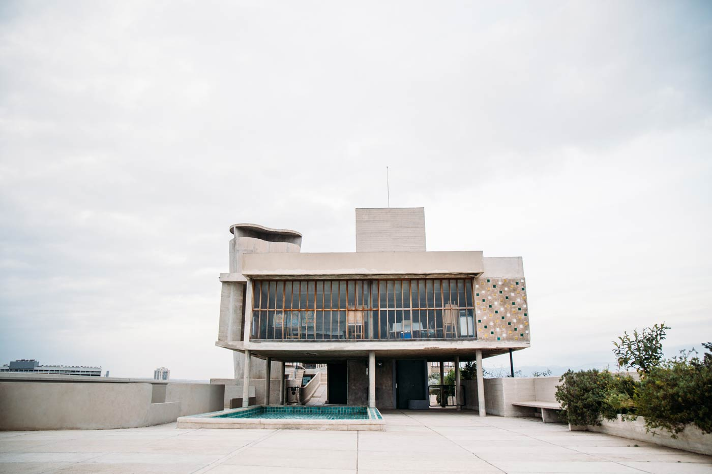 unité d'habitation Corbusier