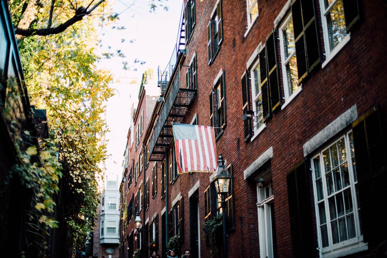 visiter Boston Acorn street