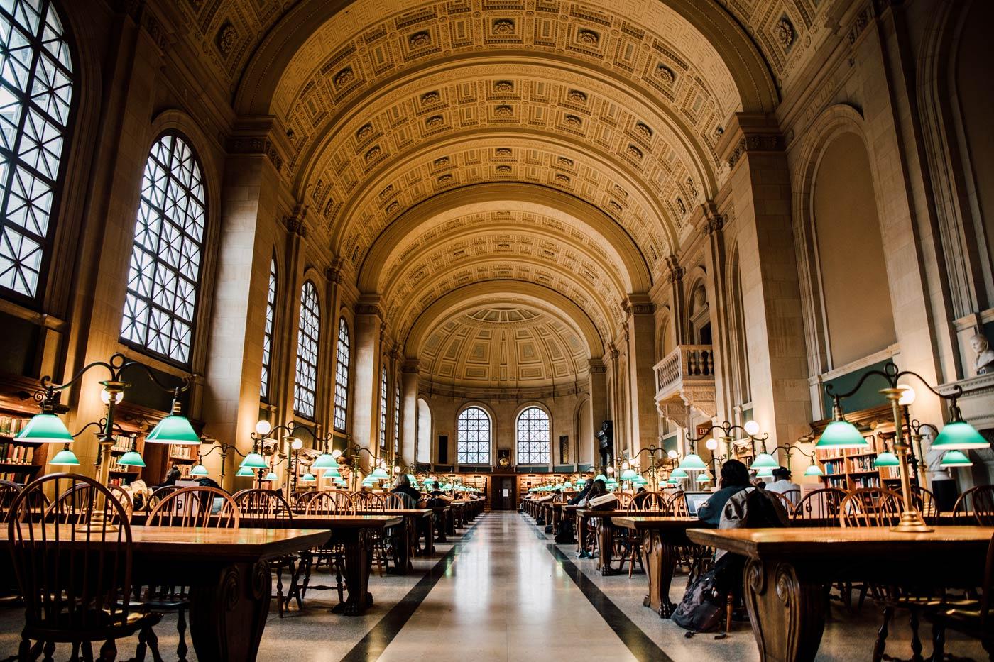 visiter Boston Public Library