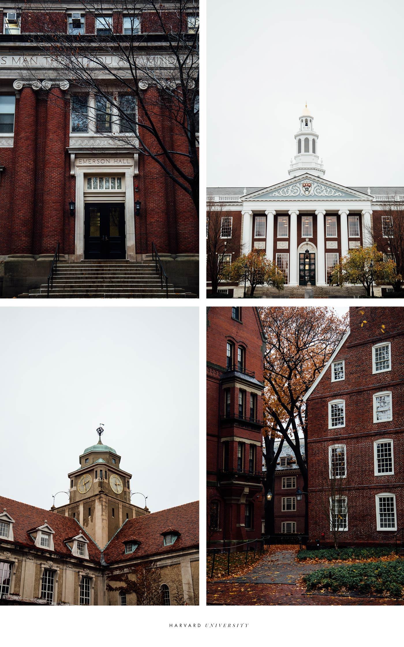 visiter l'université d'Harvard de Boston