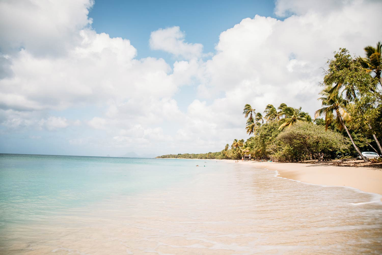 plage grande Anse des salines Martinique