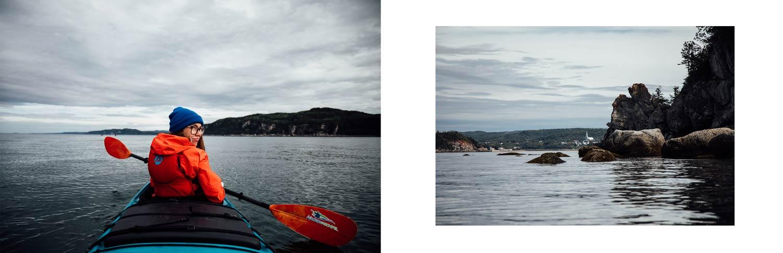kayak Parc national du Bic avec Aventures Archipel