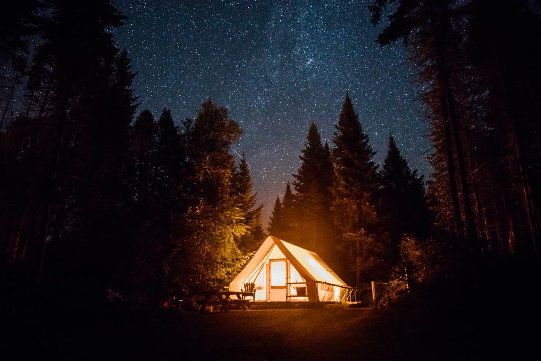 prêt à camper : hébergement sépaq