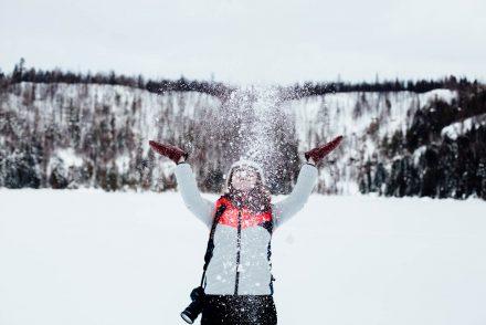 profiter de l'hiver au Québec en Mauricie