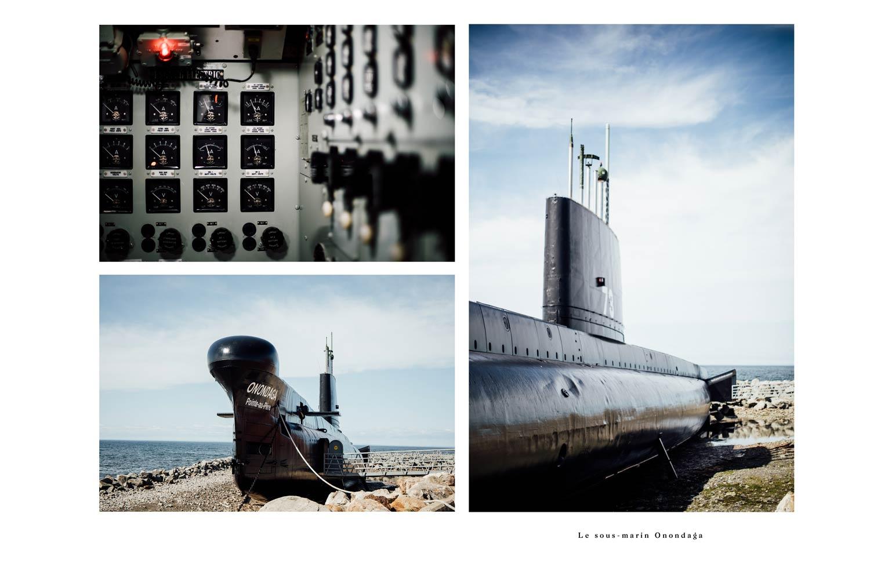 sous-marin Onondaga à voir au Bas-Saint-Laurent