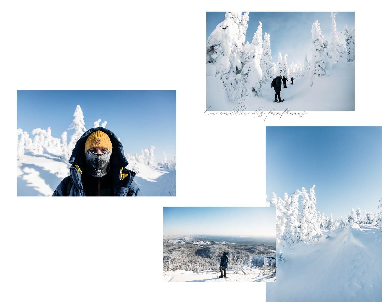 conseils randonnée les monts-valin en hiver
