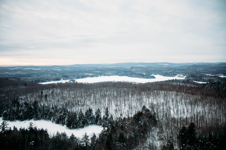 survol pourvoirie lac blanc en hélicoptère