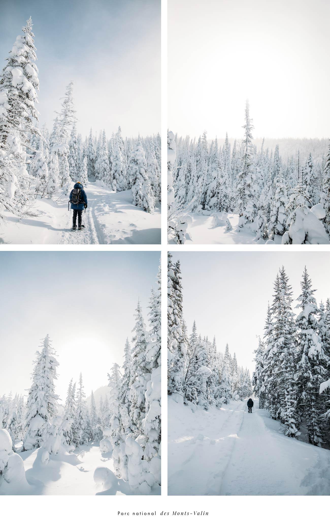 randonner à la vallée des fantômes Saguenay