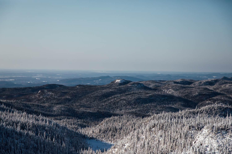 randonner au Saguenay en hiver
