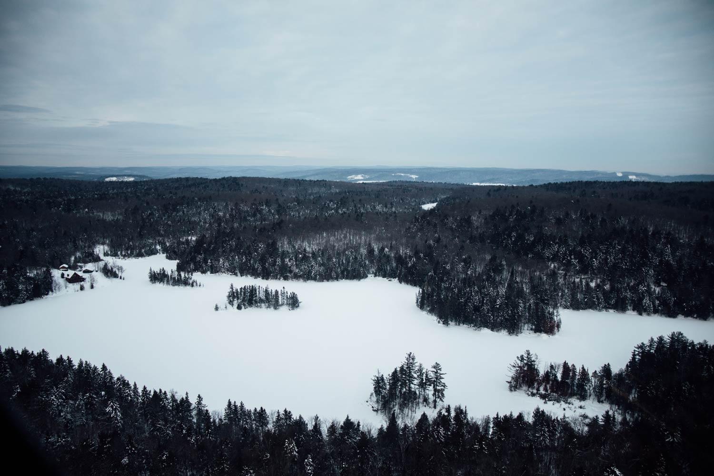 week end d'hiver en Mauricie au Québec