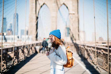 brooklyn bridge faire à New York