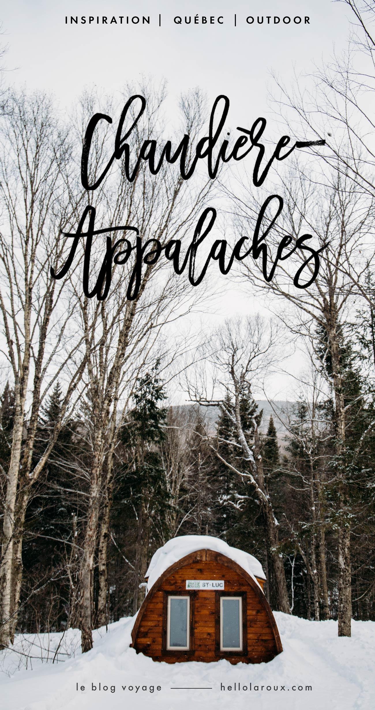 hiver en Chaudière-Appalaches blog