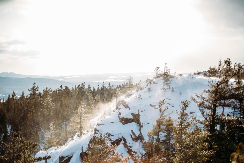 l'hiver en Chaudière-Appalaches au Québec