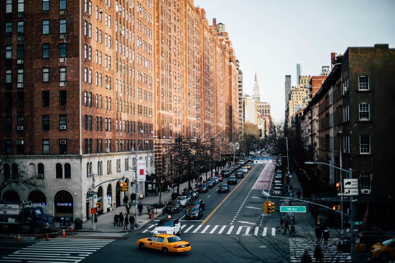 Manhattan depuis la high line