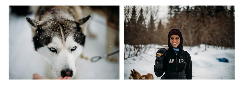 où tester le traineau à chiens Québec